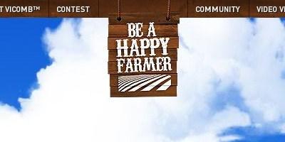 Be a happy farmer