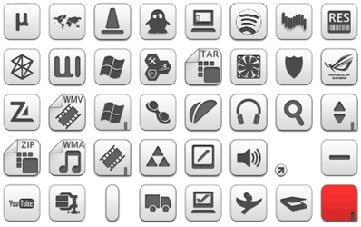 Albook extended 764 icons