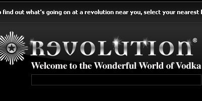 Revolution Vodka Bars