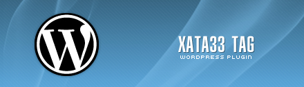 "Wordpress plugin ""Xata33 Tag"""