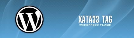 """Wordpress plugin """"Xata33 Tag"""""""